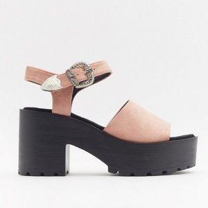 🆕 Nasty Gal Western Sandals